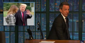 Seth Meyers Takes A Closer Look At Trump's Fraudster Friends