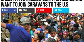 Breitbart Plods On With Migrant Caravan Scare Stories
