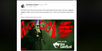 Crying Nazi Christopher Cantwell Promotes 'Angry Goy II' Video Game