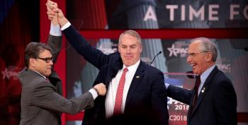 Ryan Zinke Latest To Step Down In Disgrace From Trump Administration