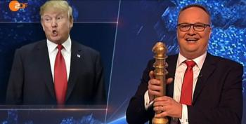 Trump Wins Germany's Fourth Straight 'Golden Dumbass' Award