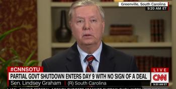 Sen. Lindsey Graham Admits He Wants The Taxpayers To Pay For Trump's Border Wall