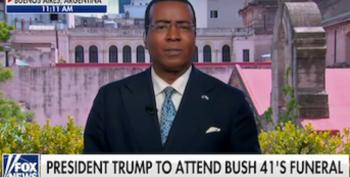 Fox Reporter Erases Trump's Long History Of Attacks On Bush Family