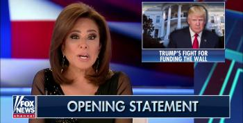 Fox's Jeanine Pirro Conveniently Forgets Mexico Was Supposed To Pay For Trump's Border Wall