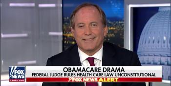 TX AG Paxton: It's 'A Great Day' After Obamacare Ruling Jeopardizes Millions' Health Insurance