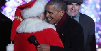 President Says Merry Christmas!