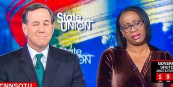 Nina Turner Smacks Down Santorum For Defending Shutdown And Trump's 'Hunger Games Moment'