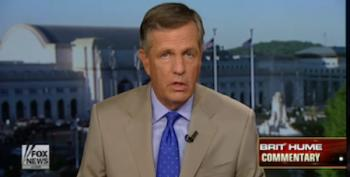 Fox News' Brit Hume: Trump's 'Poor Character' May 'Cripple' His Presidency