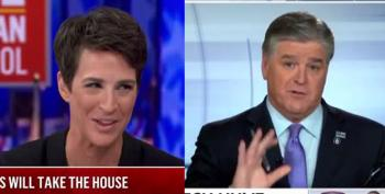 Rachel Maddow Beat The Pants Off Hannity In The Ratings Last Week