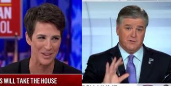 Rachel Maddow Beat The Pants Off Hannity In The Ratings Last Week