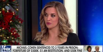 On Fox News' Outnumbered Planet, Cohen Sentencing Is Also About The Clintons