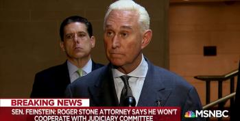 Roger Stone Pleads Fifth... And Fundraises Off Trump's Tweet