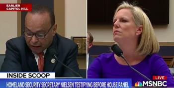 Rep. Luis Gutierrez Lets His Contempt Drip All Over Kirstjen Nielsen