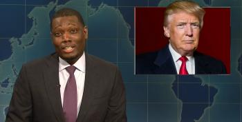 SNL's Michael Che: American Border Agents Gave Migrants 'A Fun Preview Of What It's Like To Be A Minority In America'