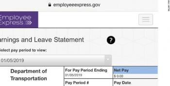 Federal Workers Begin To Feel Pain Of Shutdown As 800,000 Lose Their Paychecks