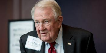 Acting AG Matt Whitaker Whispered DOJ Secrets In Edwin Meese's Ear
