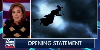 Fox's Pirro Spews Venom Towards Pelosi, Suggests She Use A Broom As An 'Alternate Way To Fly'