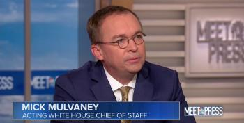 Mick Mulvaney Cites 'Taking A Concrete Wall Off The Table' When Asked What Trump Is Willing To Offer Democrats
