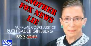 Fox & Friends Apologizes For Unfortunate Graphic Saying Ruth Bader Ginsburg Is Dead