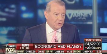 Stuart Varney Blames Media For Trump's Bad Economic Poll Numbers