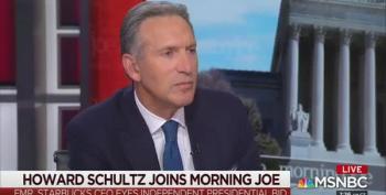 More Polls Show That Schultz Helps Trump