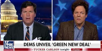 Tucker Carlson Can't Debate: AOC's Green New Deal Edition