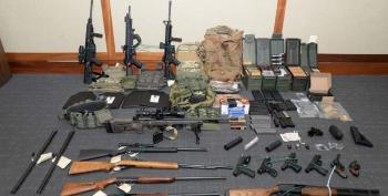 White Nationalist Arrested For Planned Mass Terror Attack On Politicians And Journalists
