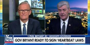 Steve Doocy Endorses MS Governor's Lie That Democrats Support 'Infanticide'