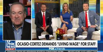 Fox & Friends Flips Out Over AOC Raising The Pay Of Her Junior Staff