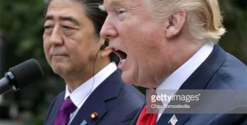 Report: White House Asked Japan To Nominate Trump For Nobel Peace Prize
