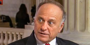 Rep. Steve King Tweets Racist Snark From Grocery Flyer: 'Heaven Has A Wall'