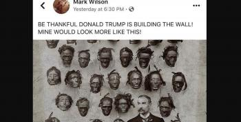 WV Emergency Services Official Imagines Trump's Wall With Severed Heads Of Black People