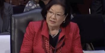 Sen. Hirono Slams Senate Judiciary Committee For Ramming Extremist Nominees Through