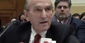 Rep. Ilhan Omar Lights A Fire Under Elliott Abrams Over Iran-Contra Ties