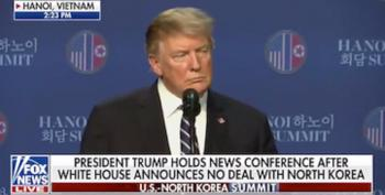 At Hanoi Trump Presser, Hannity Glorifies Failed Summit As 'Reaganesque'