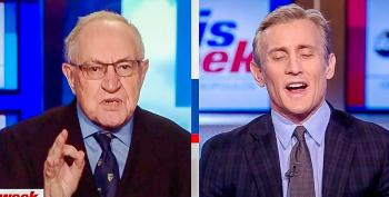 Alan Dershowitz Claims Trump Has 'Due Process' Right To Counter Mueller With 'Simultaneous' Rebuttal Report