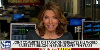 Fox News Panics Over AOC's Plan To Tax Stock Transfers