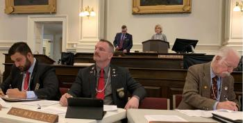 Male New Hampshire Lawmakers Wear Pearls While Gun Violence Victims Testified