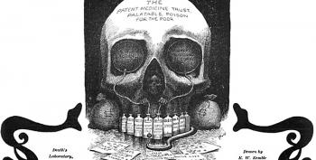 Opioid Pushing Reflects A Gilded Age History Of Pharma Fraud