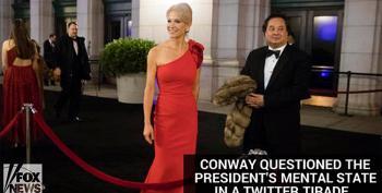 Kellyanne's Husband Calls Trump Pathological; Larry Klayman Tells Kellyanne To Dump 'The Slob'