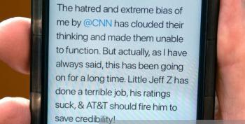 Trump's 'Jexodus' Tweet Shows He's The Commander In Disgrace