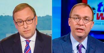 Mick Mulvaney Tells Shameless Lie: No One Will Lose Coverage If Obamacare Is Overturned