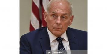 John Kelly Breaks With Trump's National Emergency Order