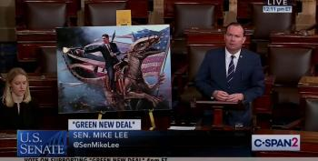 Mike Lee Is Out Of His Mind Or Engaged In A Conspiracy