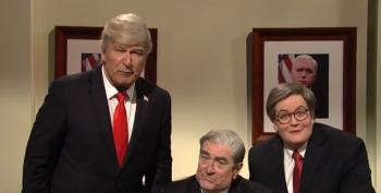 SNL Cold Open: Watch Barr And Trump Spin Mueller's Report