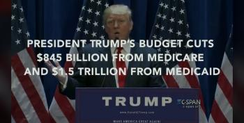 Trump's Budget: Huge Cuts To Medicare And Medicaid