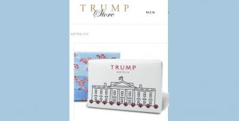 EMOLUMENTS: Trump Store Sells 'Trump Hotels' Soaps With Pic Of White House