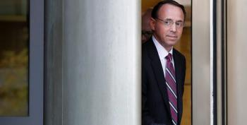 Rosenstein Told Trump He Was 'On His Team'