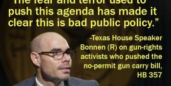 No-Permit Gun Carry Bill Dead After Advocate Threatens Texas House Speaker's Family