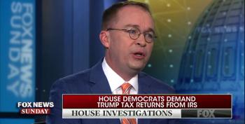 Mick Mulvaney Vows Democrats Will 'Never' See Trump's Tax Returns